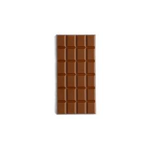 Tablette chocolat lait fourrée praliné