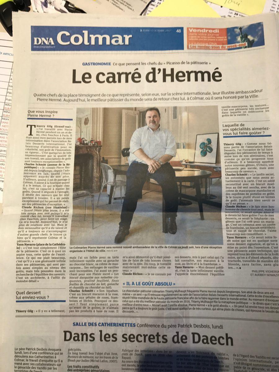 Pierre Hermé à Colmar