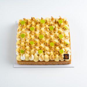 tarte carrée au citron 5 personnes